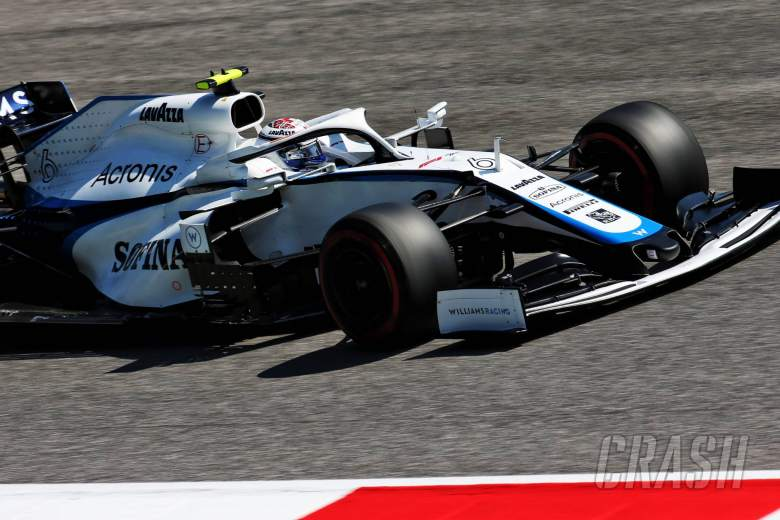 Nicholas Latifi (CDN) Williams Racing FW43.