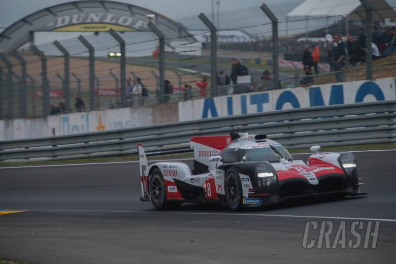 Le Mans: Buemi pulls #8 Toyota clear from sister car