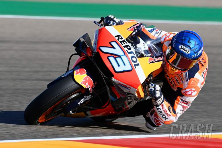 Alex Marquez, Aragon MotoGP. 16 October 2020