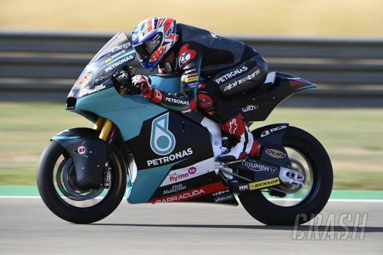 Jake Dixon, Moto2, Aragon MotoGP, 16 October 2020