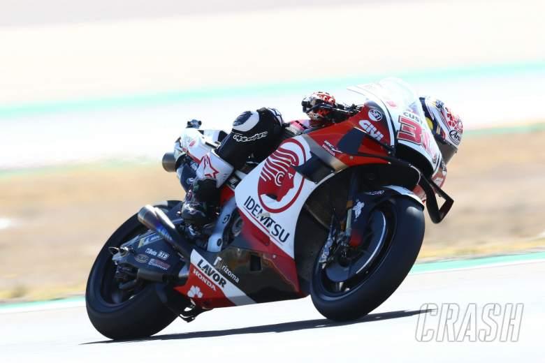 Takaaki Nakagami , Aragon MotoGP. 16 October 2020