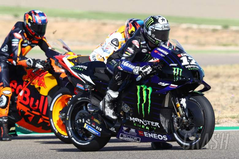Maverick Vinales , Aragon MotoGP. 17 October 2020