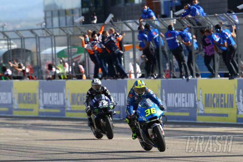 Joan Mir , MotoGP race, Aragon MotoGP. 18 October 2020