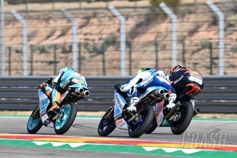 Jaume Masia, Moto3 race, Aragon MotoGP. 18 October 2020