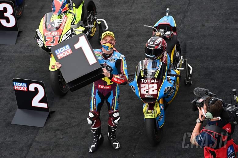 Sam Lowes, Moto2 race, Teruel MotoGP race. 25 October 2020