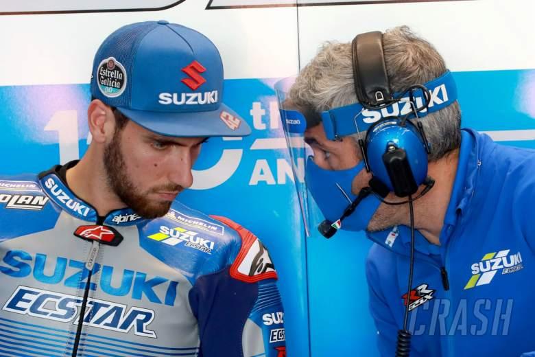 Alex Rins , European MotoGP. 7 November 2020