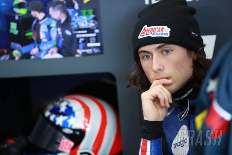Joe Roberts Moto2, European MotoGP. 8 November 2020