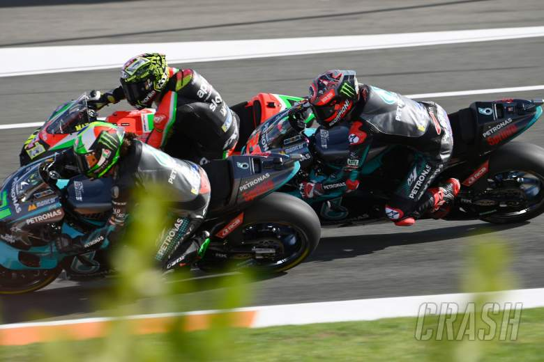 Fabio Quartararo , European MotoGP race, 08 November 2020