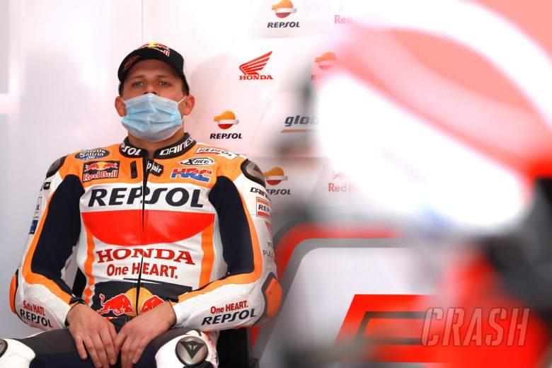 Stefan Bradl Valencia MotoGP. 14 November 2020