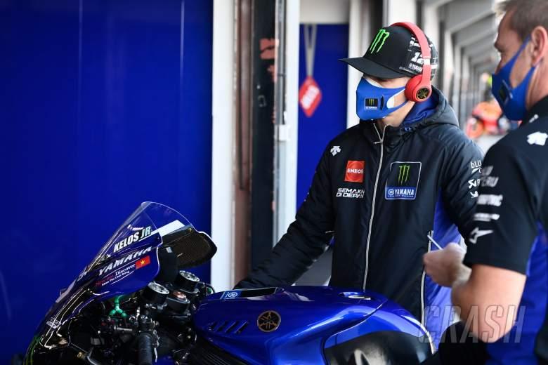 Maverick Vinales, Valencia MotoGP, 15 November 2020