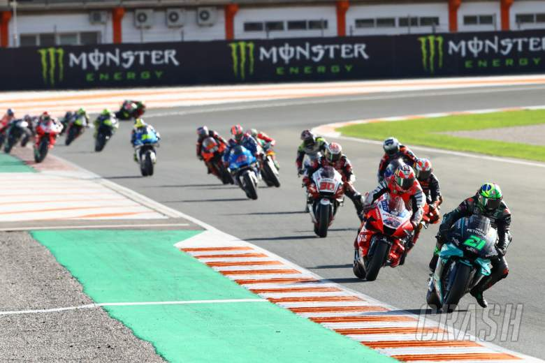 Franco Morbidelli, Valencia MotoGP race, 15 November 2020