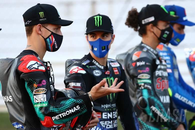 Fabio Quartararo Maverick Vinales , Portuguese MotoGP. 19 November 2020