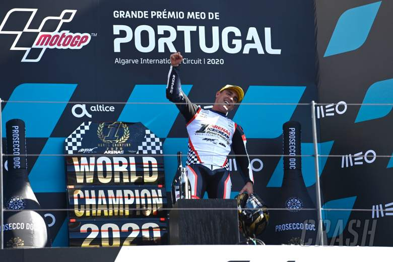 Albert Arenas, Moto3 race, Portuguese MotoGP, 22st November 2020