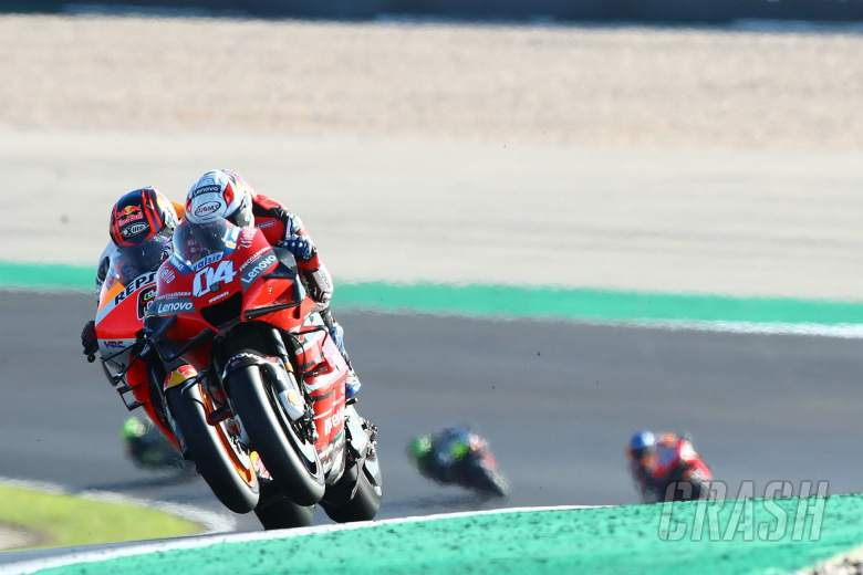 Andrea Dovizioso Stefan Bradl MotoGP race, Portuguese MotoGP. 22 November 2020