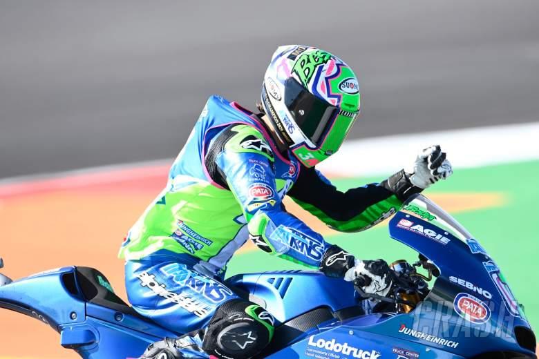 Enea Bastianini, Moto2 race, Portuguese MotoGP, 22nd November 2020