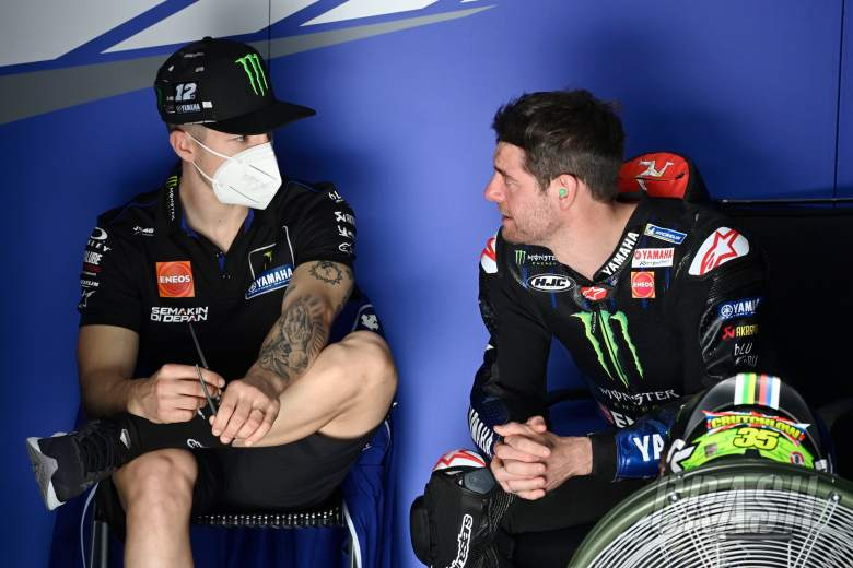 Maverick Vinales, Cal Crutchlow, MotoGP, Qatar MotoGP test, 5 March 2021