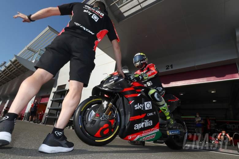 Aleix Espargaro Qatar MotoGP test, 7 March 2021