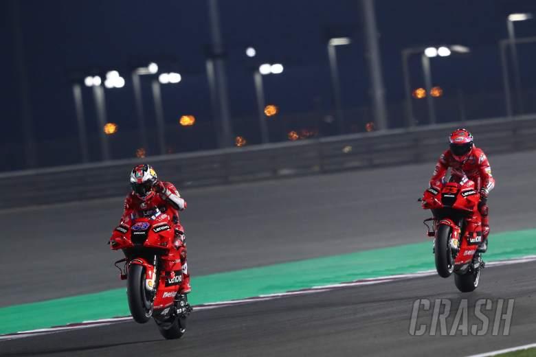 Jack Miller Francesco Bagnaia Qatar MotoGP test, 7 March 2021
