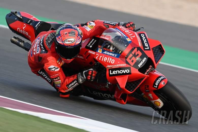 Qatar Motogp Test Francesco Bagnaia I Feel Ready For Our First Grand Prix Motogp News