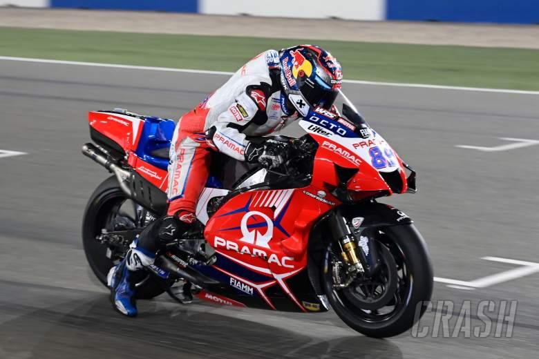Jorge Martin, Practice start, Qatar MotoGP test, 10 March 2021