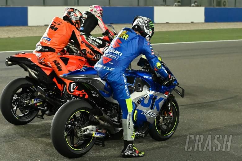 Joan Mir, Practice start, Qatar MotoGP test, 11 March 2021