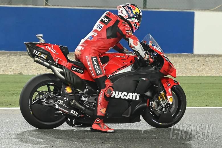 Jack Miller, practice start, Qatar MotoGP test, 11 March 2021