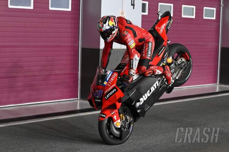 Jack Miller, Stoppie, Qatar MotoGP test, 11 March 2021
