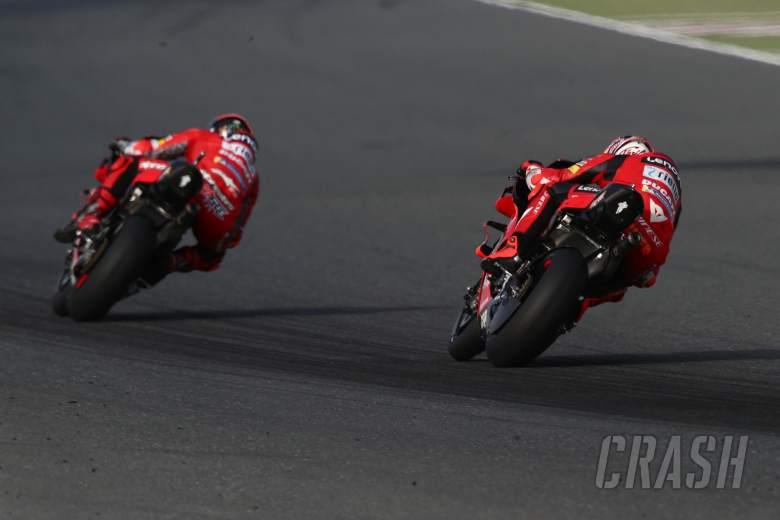 Francesco Bagnaia Jack Miller Qatar MotoGP test, 11 March 2021
