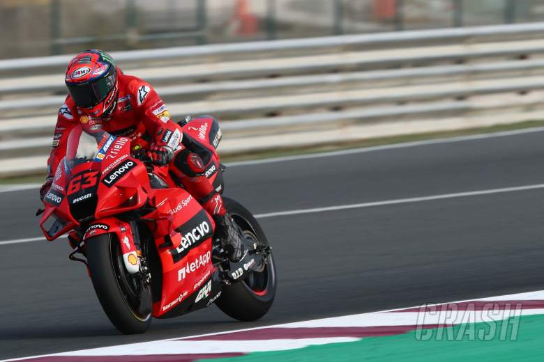 Francesco Bagnaia Qatar MotoGP test, 11 March 2021