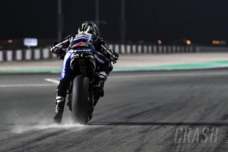 Maverick Vinales, practice start, Qatar MotoGP test, 12 March 2021