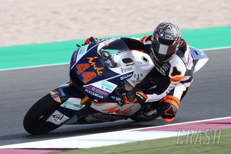 Aron Canet Qatar Moto2 test, 19 March 2021