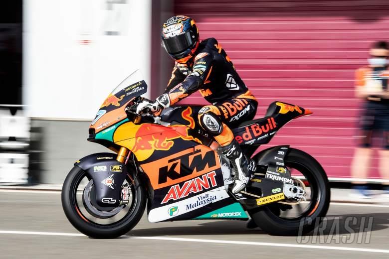 Remy Gardner, Qatar Moto2 test, 20 March 2021