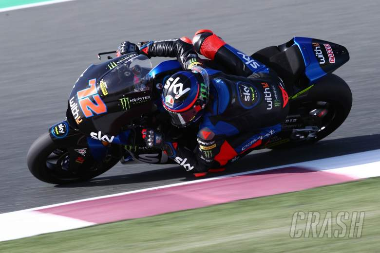 Marco Bezzecchi, Qatar Moto2 test, 21 March 2021
