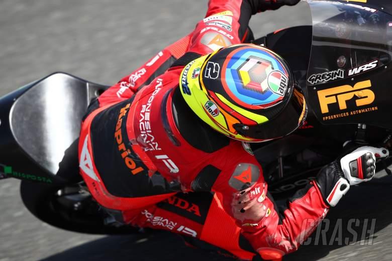 Gabriel Rodrigo, Qatar Moto3 test, 21 March 2021