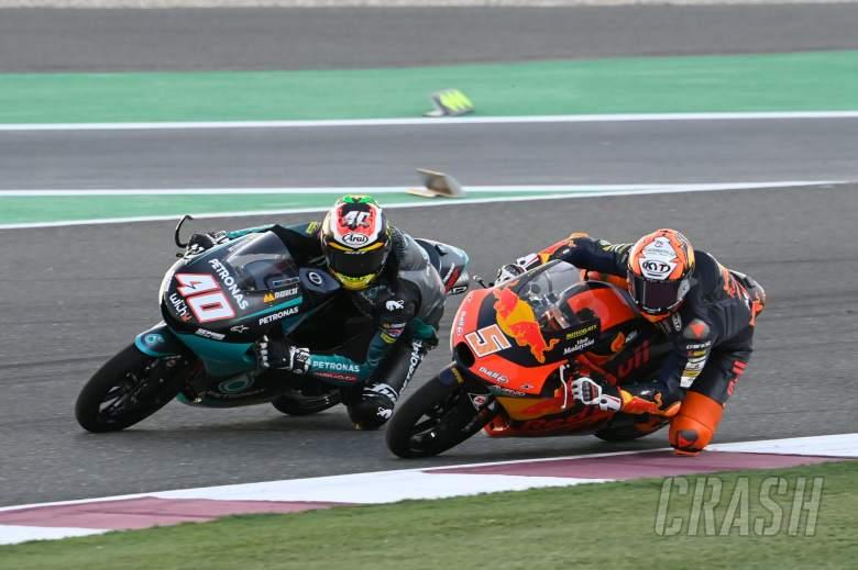 Jaume Masia, Darryn Binder, Moto3 race, Qatar MotoGP 28 March 2021
