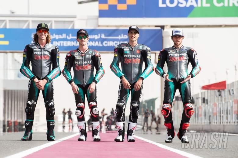 Darryn Binder, John McPhee, Xavi Vierge, Jake Dixon, Doha MotoGP 1st April 2021