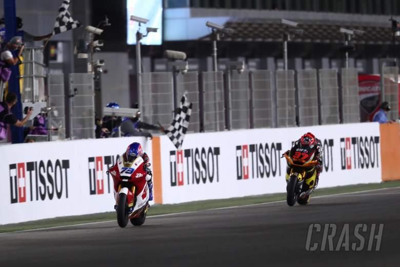 Ai Ogura, Moto2 race, Doha MotoGP, 4 April 2021