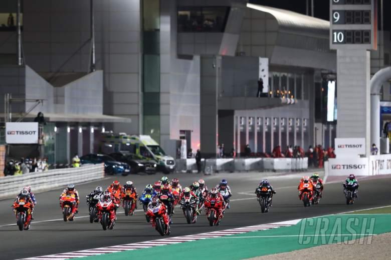 Jorge Martin race start, Doha MotoGP race, 4 April 2021