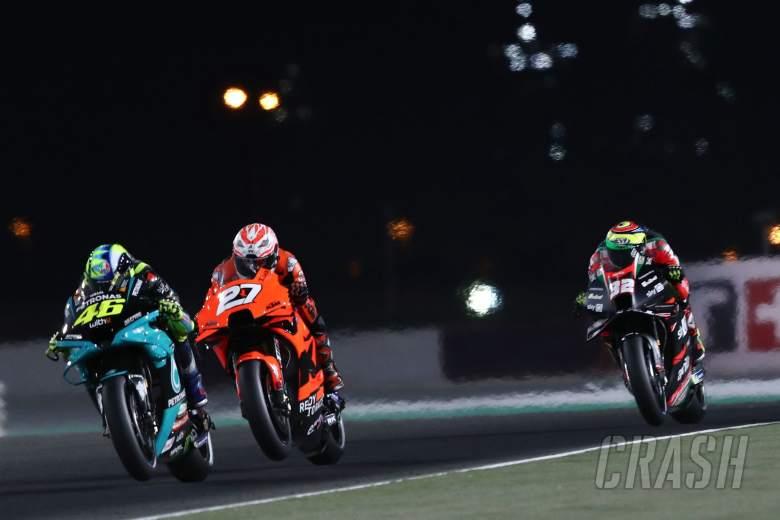 Valentino Rossi , MotoGP race, Doha MotoGP, 4 April 2021