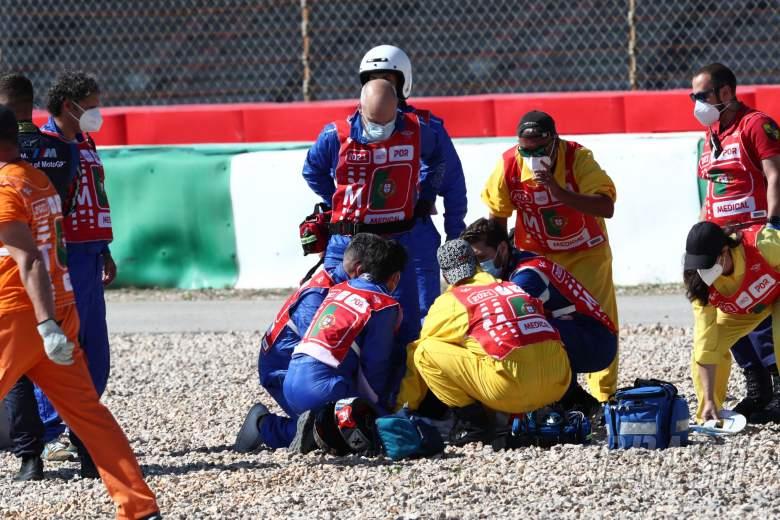 Marshals, Portuguese MotoGP, 17 April 2021