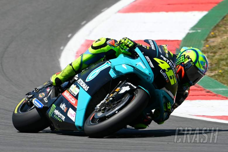 Valentino Rossi, Portuguese MotoGP race, 18 April 2021