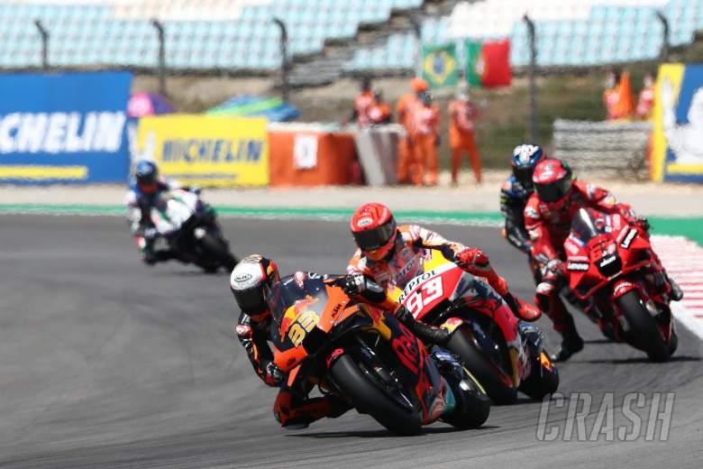 Brad Binder Marc Marquez MotoGP race, Portuguese MotoGP. 18 April 2021