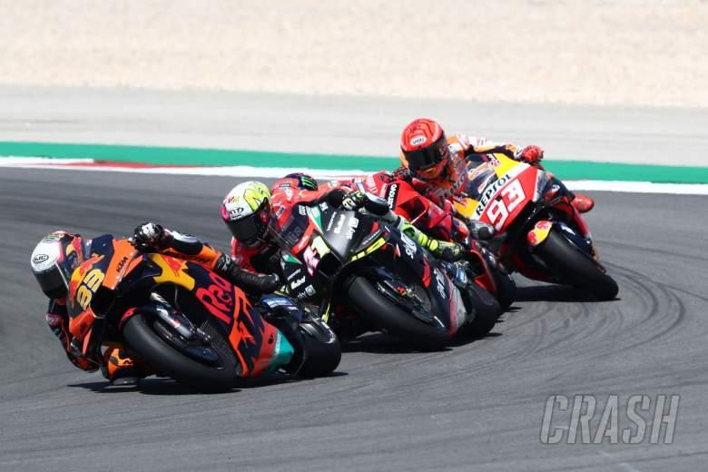 Brad Binder MotoGP race, Portuguese MotoGP. 18 April 2021