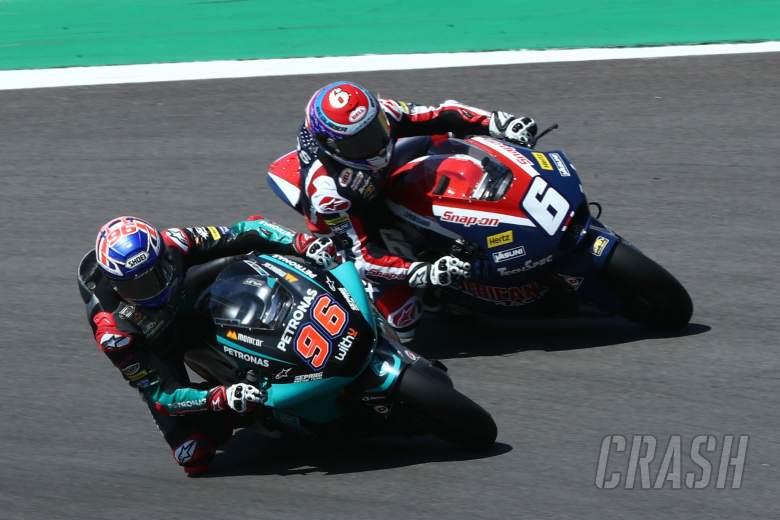 Jake Dixon Cameron Beaubier Moto2 race, Portuguese MotoGP. 18 April 2021