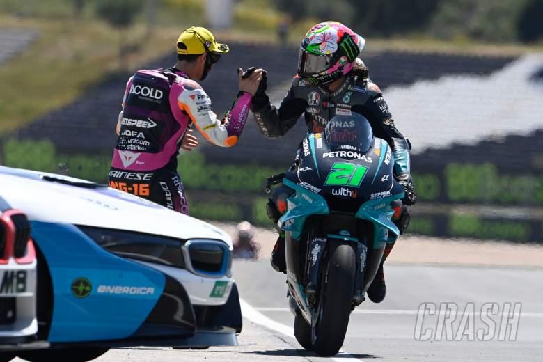 Franco Morbidelli, Andrea Migno, MotoGP race, Portuguese MotoGP 18 April 2021
