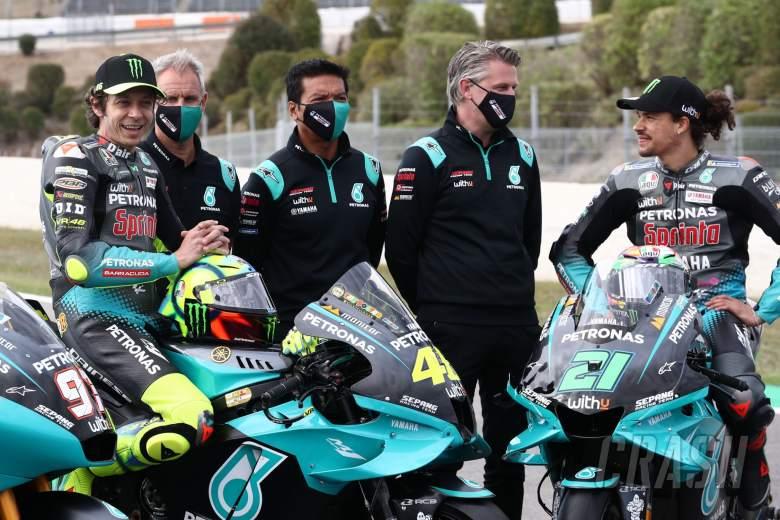 Valentino Rossi, Wilco Zeelenberg, Razlan Razali, Johan Stigefelt,西班牙MotoGP, 2021年4月29日