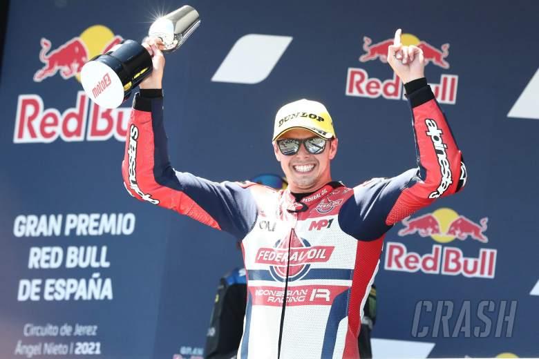 Fabio Di Giannantonio Moto2 race, Spanish MotoGP, 2 May 2021