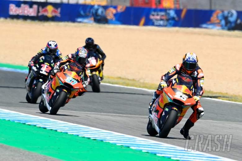 Raul Fernandez, Moto2 race, Spanish MotoGP, 2 May 2021
