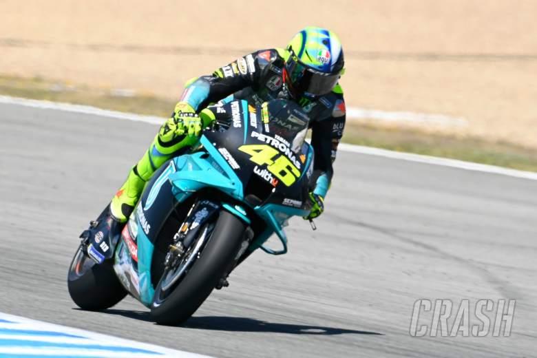 Valentino Rossi, Spanish MotoGP race, 2 May 2021