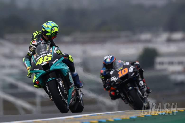 Valentino Rossi Luca Marini , French MotoGP. 14 May 2021